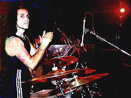 drummer Gregg Gerson clapping