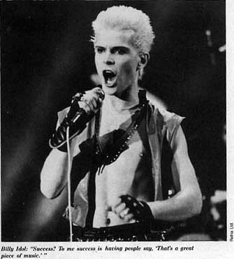 Drummer Gregg Gerson The Billy Idol Days